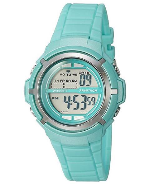 Watch Armitron Sport Unisex 45/7045 Digital Chronograph Resin Strap