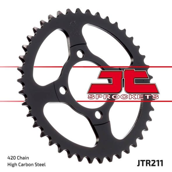 M/CYCLE SPROCKET JT JTR211.36 REAR PITCH 420 JL70 257-36