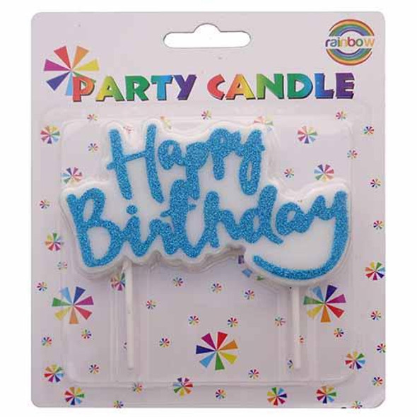 PARTY BIRTHDAY CANDLE GLITTER HPZP0064