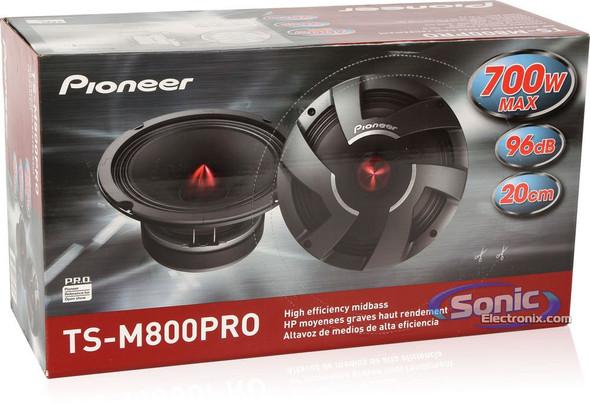 "SPEAKER CAR PIONEER 8"" TS-M800PRO MID BASS"