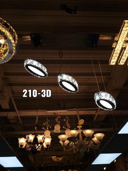 CHANDELIER LED 210-3D
