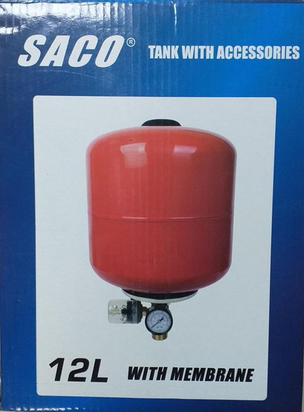PRESSURE TANK SACO 12 LITRE WITH ACCESSORIES FR-18883