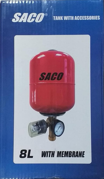 PRESSURE TANK SACO 8 LITRE WITH ACCESSORIES FR-18882