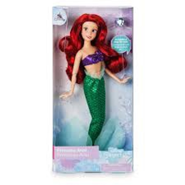 Toy Disney Ariel Classic Doll with Ring – The Little Mermaid – 11 1/2''