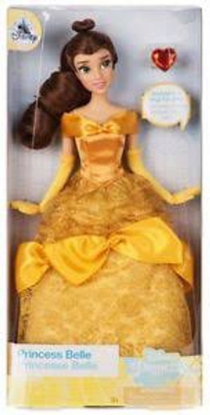 Toy Disney Belle Classic Doll with Ring – Beauty and the Beast – 11 1/2''