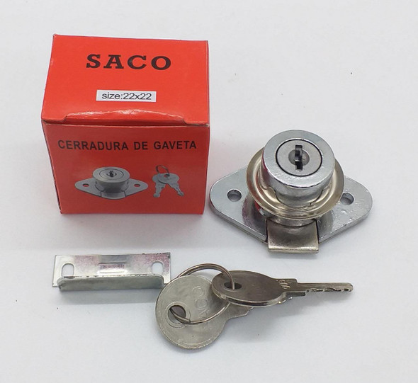 DRAW LOCK SACO #04-FR-17479 22X22
