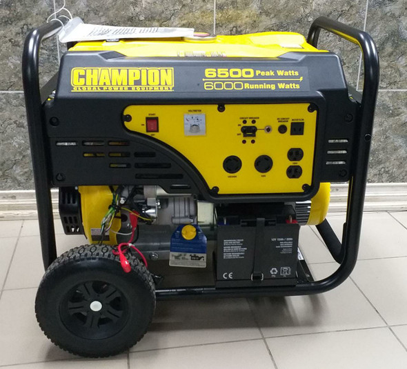 GENERATOR CHAMPION 6500W CPG6500E2-G ELECTRIC START PORTABLE