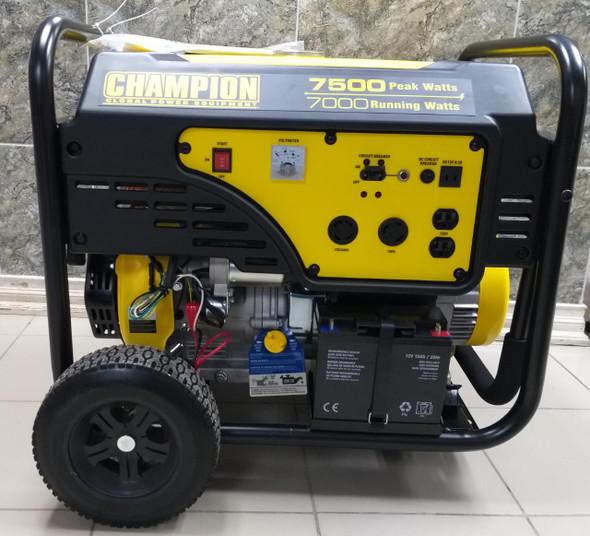 GENERATOR CHAMPION 7500W CPG7500E2-G ELECTRIC START PORTABLE