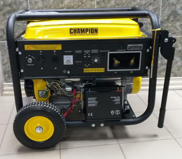 GENERATOR CHAMPION GAS WELDER CGW220E2-G ELECTRIC START PORTABLE