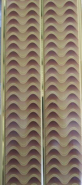 "CEILING PVC 19' X 8"" #FY-062 BROWN DESIGN"