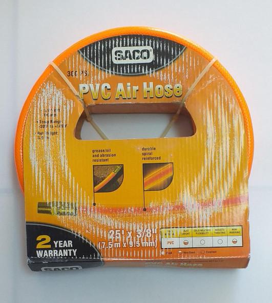 AIR HOSE SACO 3/8 X 25FT 300 PSI ROLL
