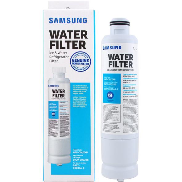 REFRIGERATOR FILTER SAMSUNG DA29-00020B NSF WATER HAF-CIN/EXP DA97-08006A