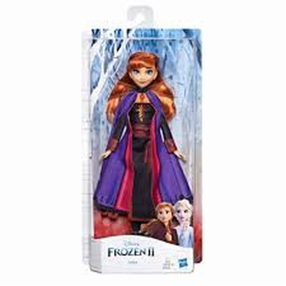 Toy Disney Frozen II Anna Fashion Doll With Long Red Hair and Outfit