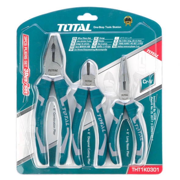 PLIERS 3PCS COMBINATION TOTAL THT1K0301