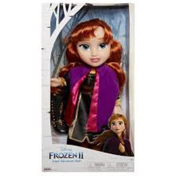 Toy Disney Frozen II Anna Travel Adventure Toddler Doll