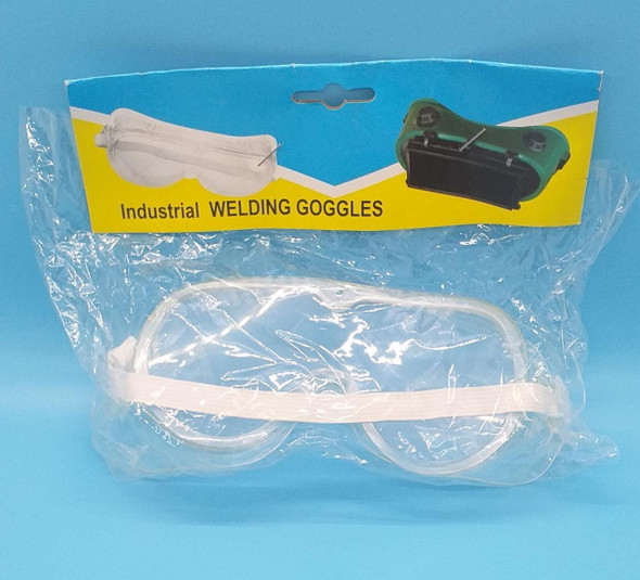 GOGGLES WELDING INDUS. CLEAR SQUARE 5-5-7