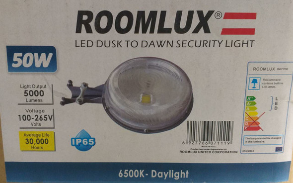 LAMP LED SECURITY 50W ROOMLUX 47700
