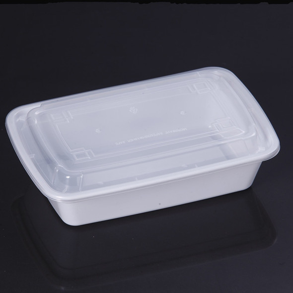 FOOD BOWL WHITE WITH LID XUELI 9618
