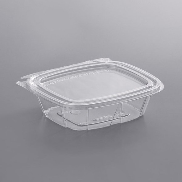FOOD CONTAINER CLEAR WITH LID 24OZ
