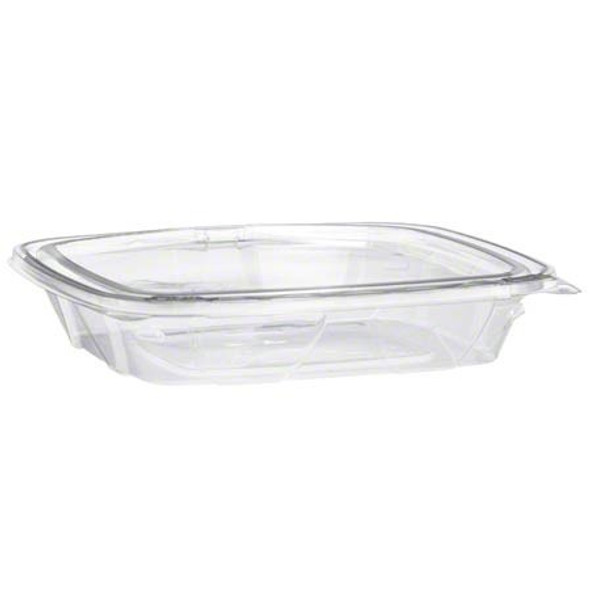 FOOD CONTAINER CLEAR WITH LID 8oz