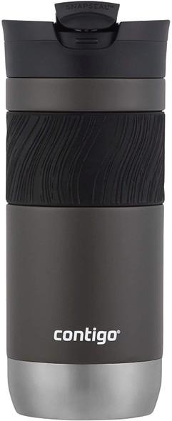 Travel Mug Contigo 2PCS PACK Snapseal Insulated Travel Mug, 16 oz Sake/Juniper