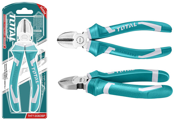 "PLIERS NIPPER 6"" TOTAL THT130606P DIAGONAL"