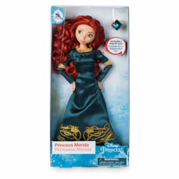 Toy Disney Merida Classic Doll with Ring – Brave – 11 1/2''