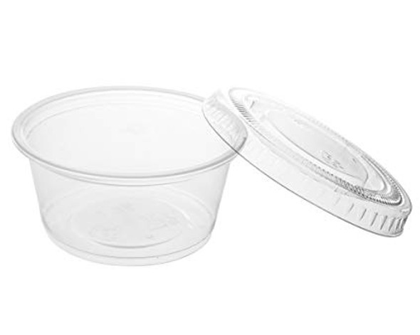 FOOD TASTING / SAMPLE CUPS WITH LID 2oz 50PCS PACK 40081
