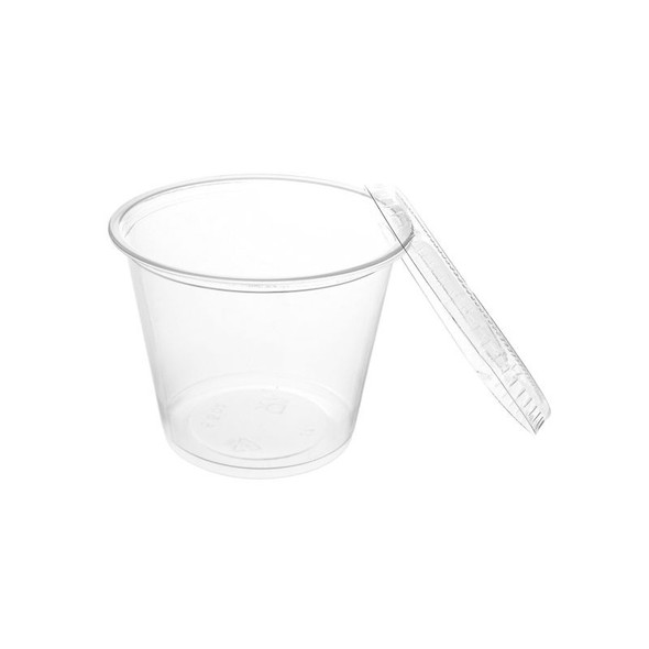 FOOD TASTING / SAMPLE CUPS WITH LID 5.5oz 20PCS PACK 400104