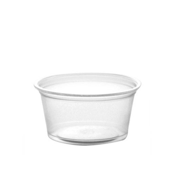 FOOD TASTING / SAMPLE CUPS NO LID 2oz 100PCS PACK CLEAR