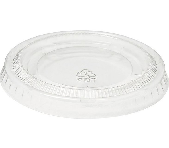 FOOD TASTING / SAMPLE CUPS LID ONLY 3.25oz 100PCS PACK CLEAR