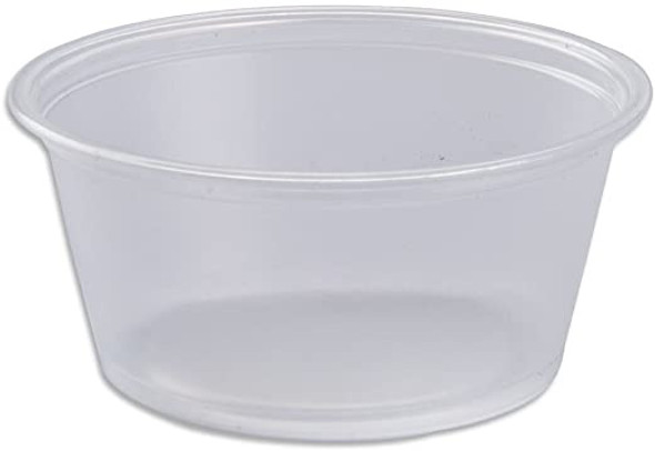 FOOD TASTING / SAMPLE CUPS NO LID 3.25oz 100PCS PACK CLEAR
