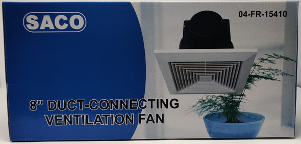 "FAN 8"" CEILING EXTRACTOR SACO 04-FR-15410"