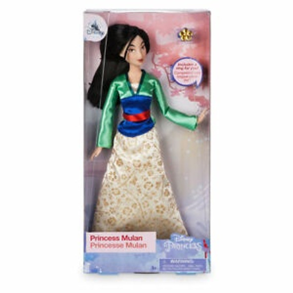 Toy Disney Mulan Classic Doll with Ring – 11 1/2''
