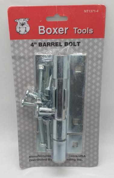 """TOWER BOLT 4"""" BOXER CHROME #NT1371-4"""