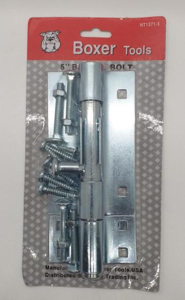 """TOWER BOLT 5"""" BOXER CHROME #NT1371-5"""