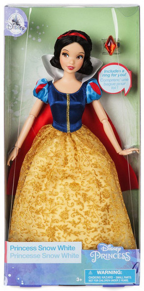 Toy Disney Snow White Classic Doll with Ring – 11 1/2''