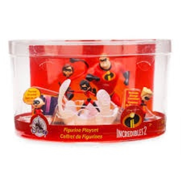 Toy Disney The Incredibles Figure Play Set