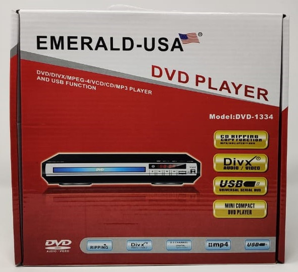 DVD EMERALD-USA DVD-1334 WITH USB