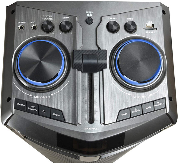 "SPEAKER BOX BLAUPUNKT 10"" DUAL BP1491 POWERED SOLD EACH"