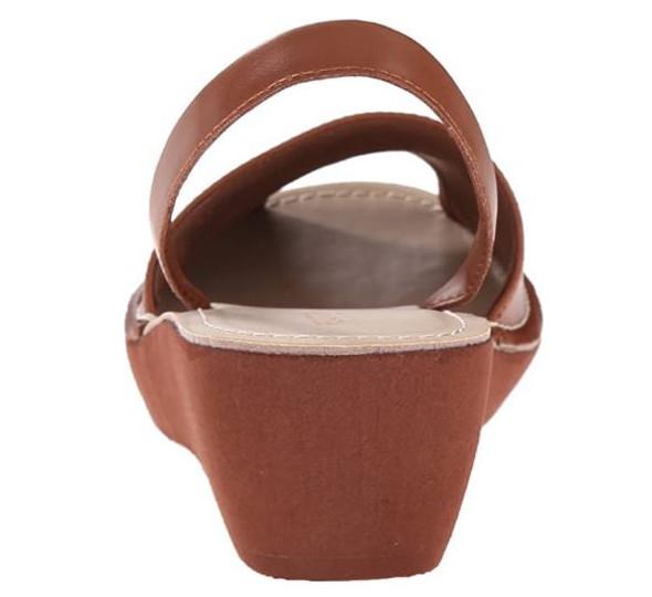Footwear Kenneth Cole Reaction Women's Fine Glass Wedge Sandal Luggage