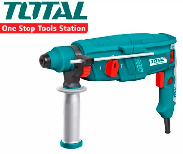 DRILL GUN TOTAL UTH308268 HAMMER ROTARY 800W