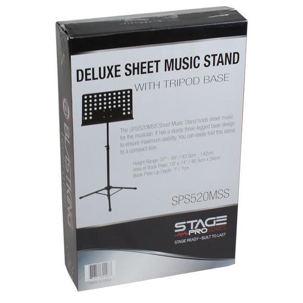 MUSIC STAND METAL BLASTKING IBKE SPS520MSS SHEET