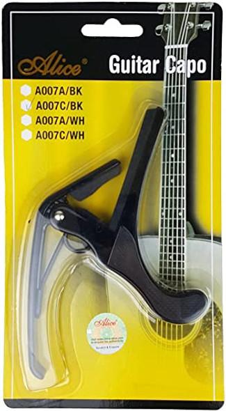 GUITAR CAPO A007C/BK BLACK ALLOY CLASSICAL