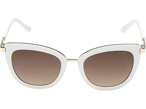 Sunglasses Women GUESS Factory Cat Eye GF6089 With Leather Pouch