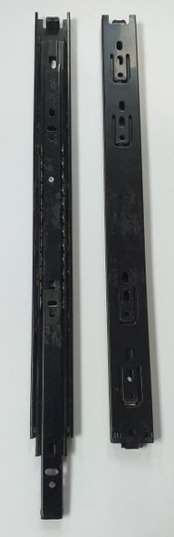 "DRAWER SLIDE 15"" BLK 3 WAY HEAVY"