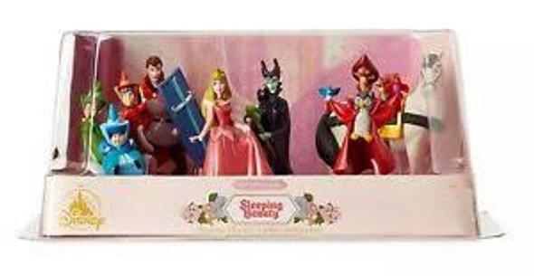 Toy Disney Sleeping Beauty Figurine Play Set 60th Anniversary