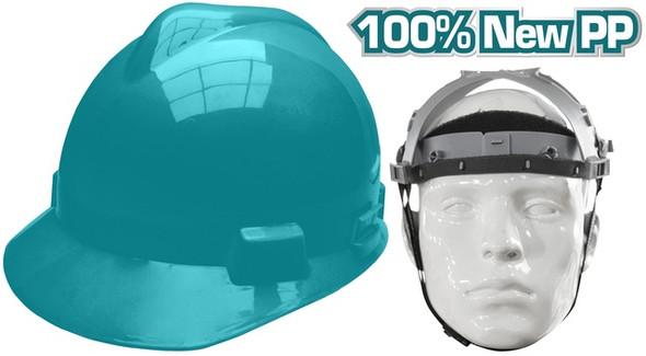 HELMET SAFETY TOTAL TSP608 GREEN