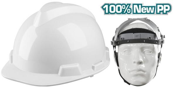 HELMET SAFETY TOTAL TSP609 WHITE