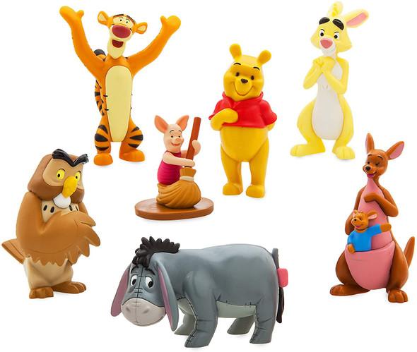 Toy Disney Winnie The Pooh Figure Play Figurines Set